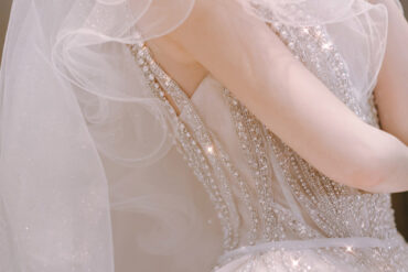 Ý tưởng váy cưới màu xanh dương thanh lịch